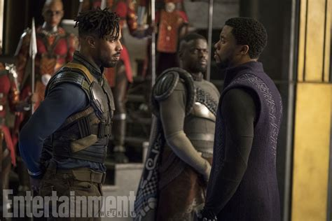 marvel film oscars see a ton of new photos from black panther film is a