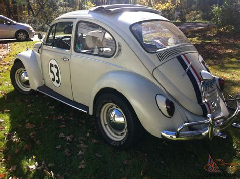 volkswagen beetle classic herbie herbie the love bug 1977 vw bug volkswagen 1963 replica