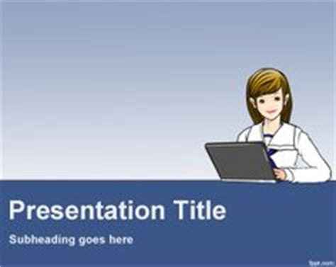 themes for powerpoint secretary 1000 images about professions powerpoint templates on