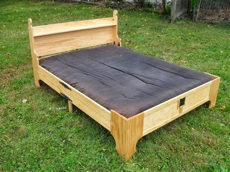 Futon In A Box by Amazing Bed In A Box Finewoodworking