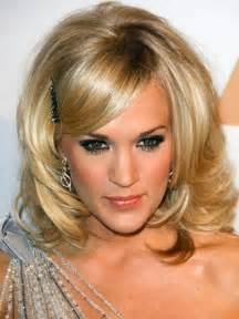 med to hair styles medium length layered hairstyles with bangs