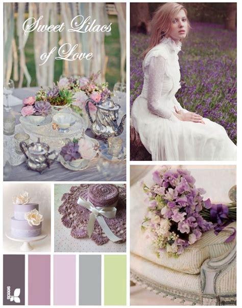 wedding colour schemes lilac pastel garden spring lilac wedding inspiration