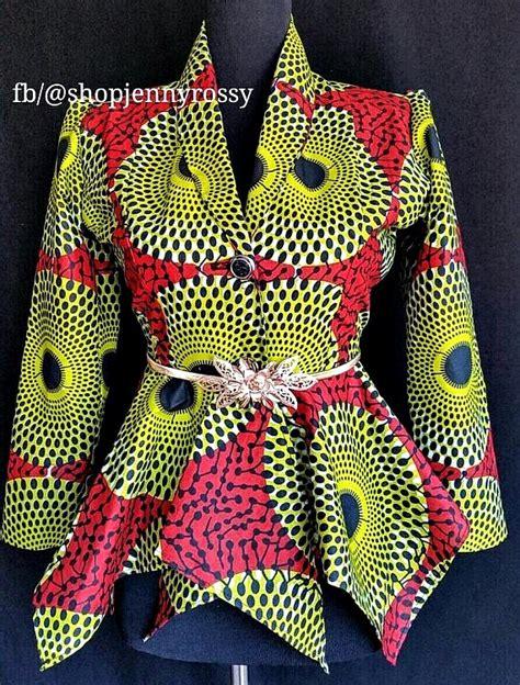 ankara blazer and jacket styles 20 stylish african print ankara jackets la passion vo 251 t 233 e