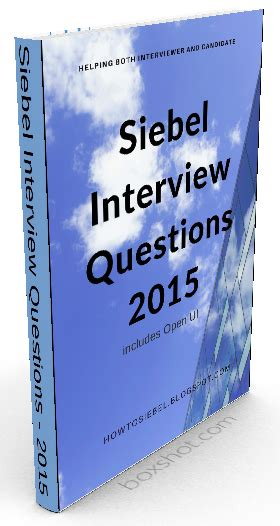 siebel workflow questions how to siebel siebel eai questions