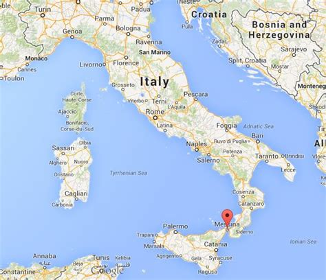 messina map where is messina on map of italy world easy guides