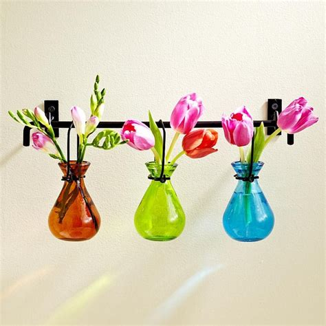 Hanging Bud Vase by Hanging Glass Bud Vases Eclectic Vases By Redenvelope