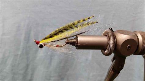 Sinking Tip Fly Line by Friday Night Flies Chartreuse Coho Clouser Minnow