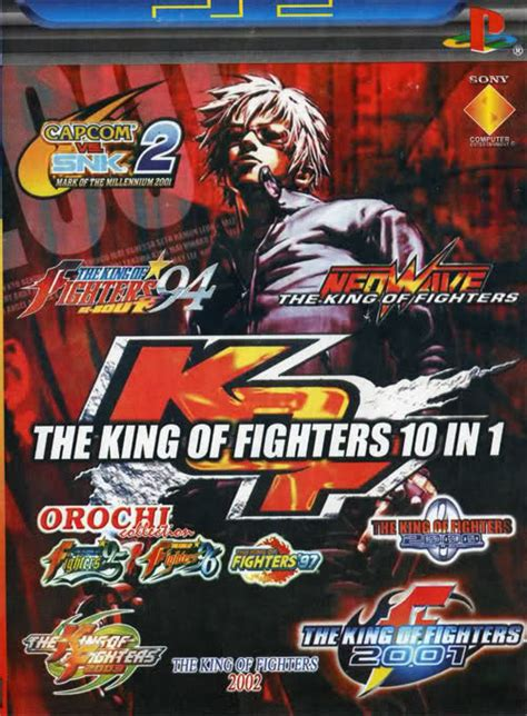 Masseger King 10 In 1 ps2 the king of fighters 10 in 1 ntsc eng pl