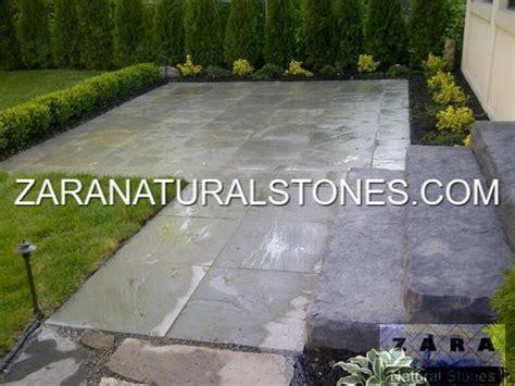Grey patio stone pavers Toronto Vaughan Kleinburg Maple