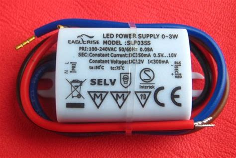 selv power supply free shipping ce semko selv ip65 water proof led driver