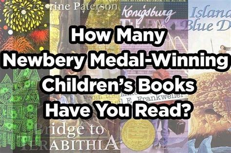 newbery picture books how many newbery medal winning children s books you