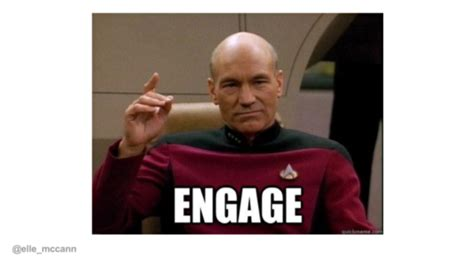 Jean Luc Picard Meme Generator - image gallery picard engage