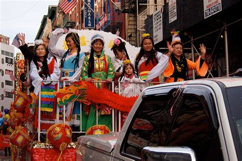 new year day parade nyc photo new year parade in new york chinatown by