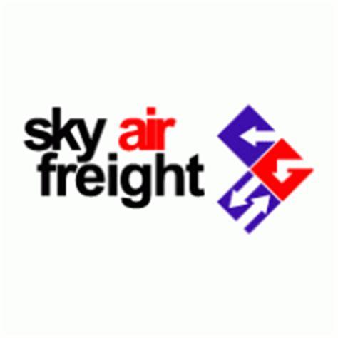 sky air freight logo vector eps