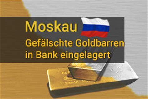 goldankauf bank gef 228 lschte goldbarren in bank eingelagert