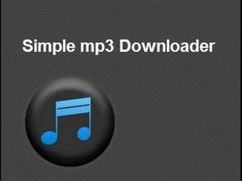 download mp3 youtube simple simple mp3 downloader descarga m 250 sica mp3 con andrioid en