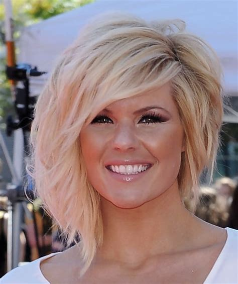 kimberly caldwell layered razor cut short hairstyles