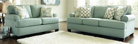 Living Room Furniture Sofas Buy Furniture 2820038 2820035 Set Daystar Seafoam Living Room Set Bringithomefurniture