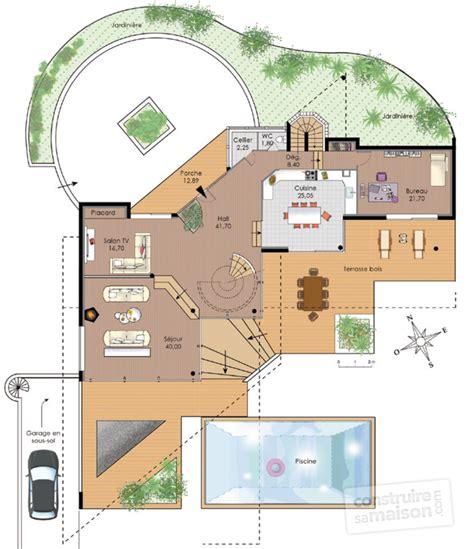 Plan De Maison Design by Maison D Architecte 1 D 233 Du Plan De Maison D