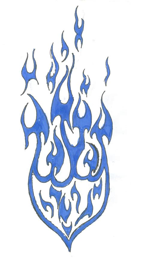 fire tribal tattoo tattoos designs ideas and meaning tattoos for you