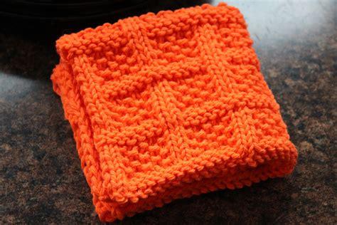 free knitted dishcloth patterns square lattice dishcloth designs