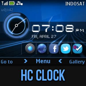 tehkseven themes for nokia c3 udjo42 high quality nokia themes nokia c3 theme hc clock