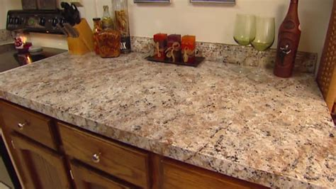 Imitation Granite Countertop by How To Apply Faux Granite Kitchen Countertop Paint Today