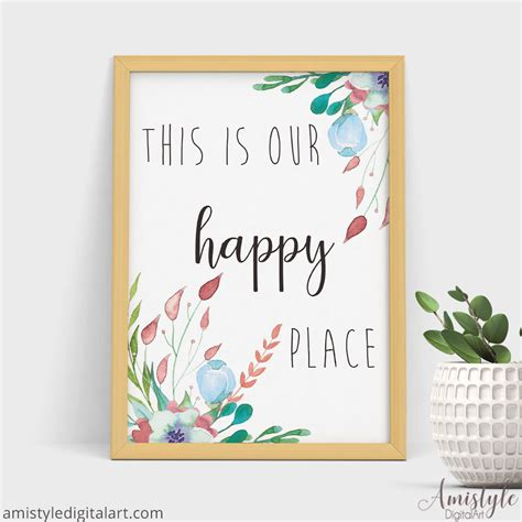 printable home decor 9 inspirational spring wall art printables amistyle