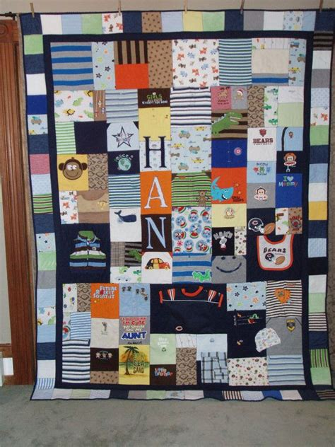Patchwork Quilt Made From Baby Clothes - size patchwork quilt made from your clothes baby