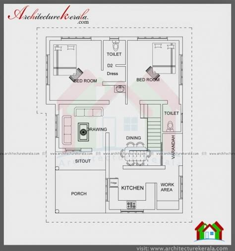 Kerala Model House Plans With Elevation Best 750 Sq Ft House Plans Kerala Arts With Open Floor Plan Kerala Model House Plans 750 Sq Ft