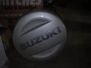 Suzuki Spare Tire Cover 08 Grand Vitara Spare Tire Cover W Pics Suzuki