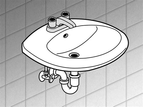 replace  bathroom sink  steps  pictures wikihow