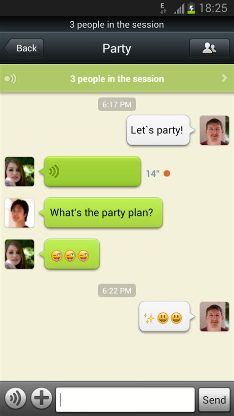 wechat android wechat 4 5 for android release wechat world