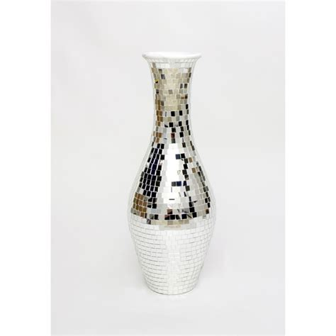 Silver Floor Vase by Buy Silver Coloured Ceramic Floor Vases Leewadee