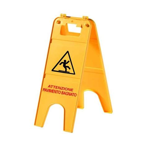 cartello pavimento scivoloso segnale cartello cavalletto plexi pavimento bagnato