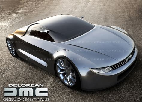 Delorean Dmc 12 Concept by Dmc Delorean Concept By Typerulez On Deviantart