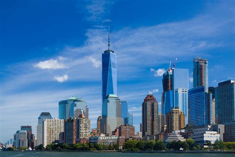 New York by New York Skyline Free Stock Photo Domain Pictures