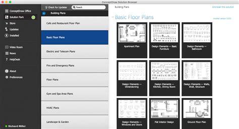 How To Create Floor Plans basic floor plans solution start using