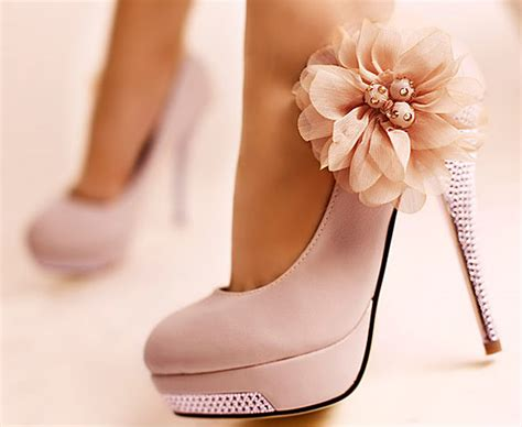 pretty flower shoes glitter flowers princess stiletto high heels wedding