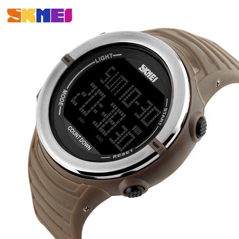 Termurah Skmei Jam Tangan Digital Pria 1209 skmei jam tangan digital pria 1209 coffee