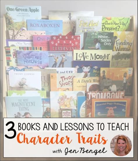using picture books to teach character traits 25 best ideas about teaching character traits on