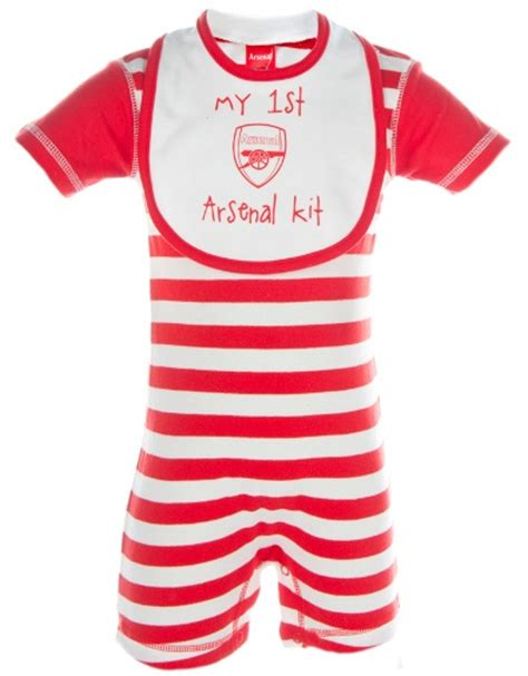 Baby Dress Arsenal Away 1516 33 best images about football arsenal baby clothes on seasons arsenal gifts and
