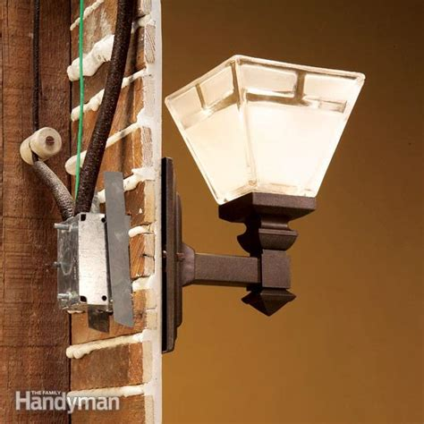 Electrical Wiring Light Fixture How To Connect Wiring To A New Light Fixture Family Handyman