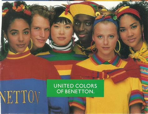 colors of benetton vintage ads of the 80 s challebrown s