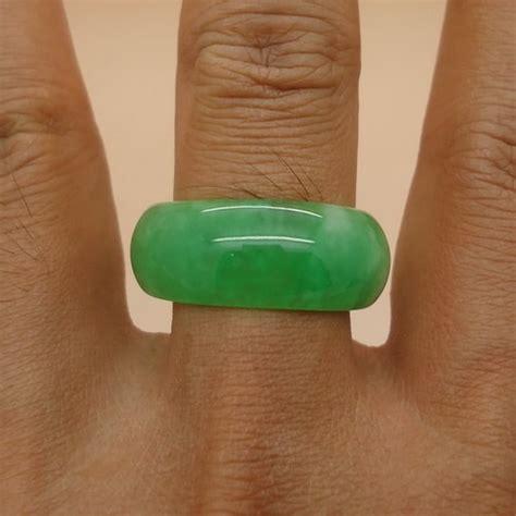 Asli Cincin Batu Mustika Giok Merah cincin batu giok besar pusaka dunia
