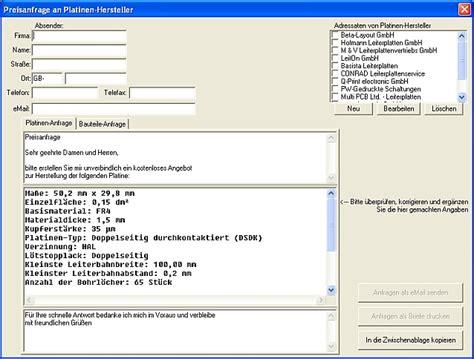 Cad Software preisanfrage platinenherstellung target 3001 pcb design