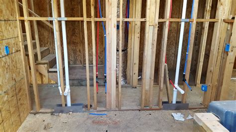 plumbing rough plumbing electrical post tension cables inflection