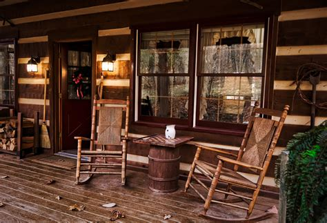 Cabin Porch by Cabin Chris Harnish Photography