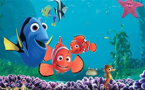 Finding Addresses Of For Free Finding Nemo Fish Desktop Wallpaper 1280x1024 Computer Picture To Pin On