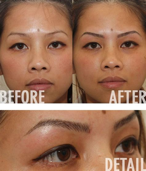 how to remove eyebrow tattoo at home 10713 best removal info images on